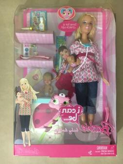 2008 Barbie i can be... baby doctor Playset. L9445. Rare har