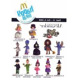 2008 Mcdonalds Madame Alexander Wizard of Oz Dolls Set Of 12