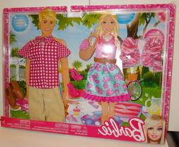 2012 Barbie and Ken Doll FASHIONISTAS Fashion Gift Set NEW N