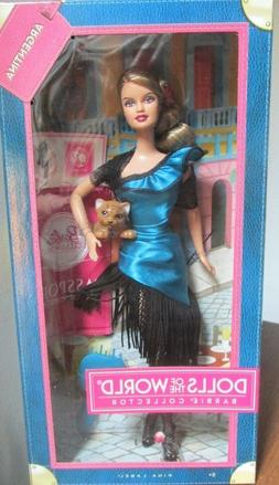 "2012 BARBIE DOLLS of THE WORLD  ""ARGENTINA ""   PASSPORT COLL"