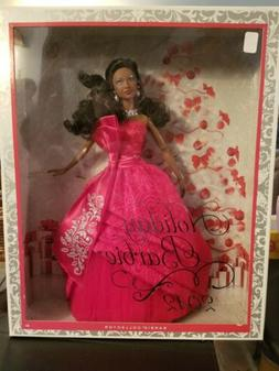 2012 Holiday Barbie Doll African American AA Christmas Colle