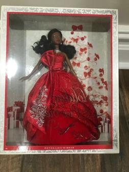 2012 HOLIDAY BARBIE DOLL AFRICAN AMERICAN BARBIE COLLECTOR M