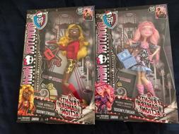 2013 Monster High FRIGHTS CAMERA ACTION LOT OF 4 Dolls HONEY