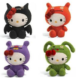 2013 SET of 4 GUND Ugly Dolls Uglydoll X Hello Kitty ICE BAT