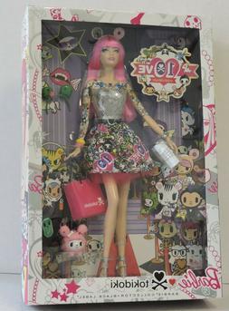 2015 TOKIDOKI 10th Anniversary Barbie Doll with HOT PINK HAI
