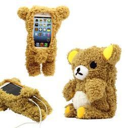 GEARONIC TM New 2016 3D Cute Doll Toy Cool Plush Teddy Bear