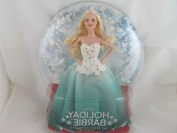 Mattel 2016 Holiday Barbie Doll New globe PEACE HOPE LOVE go