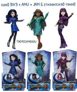 2017 Disney DESCENDANTS 2 Movie Isle of the Lost MAL+EVIE +U
