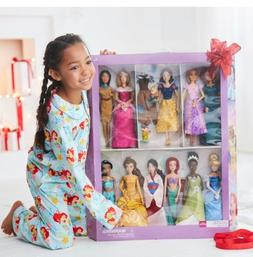 2017 DISNEY Store Classic 11 Princess Deluxe Doll Barbie Col