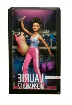 2018 Barbie Laurie Hernandez Gymnast Made To Move Two Leotar