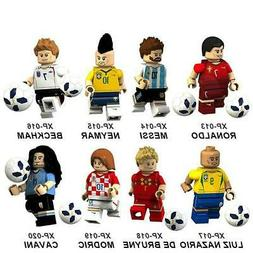 2018 World Cup soccer team figure doll puzzle assembling bui