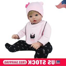 20inch Reborn Newborn Dolls Real Life Vinyl Silicone Baby Bo