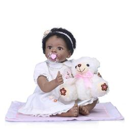 22''55cm Reborn Baby Dolls Handmade SiliconeLooking Newbor