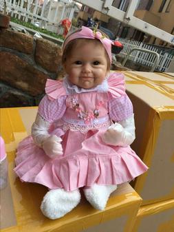 "22"" Reborn Baby Dolls Girl Look Real Lifelike Newborn Reborn"