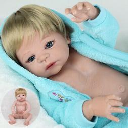 "22"" Reborn Baby Dolls Full Body Silicone Vinyl Newborn Babie"