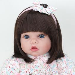 "22"" Reborn Baby Dolls Handmade Vinyl Silicone Newborn Toy Li"