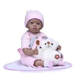 "22"" Reborn Newborn Baby Doll Lifelike Silicone Vinyl Girl Do"