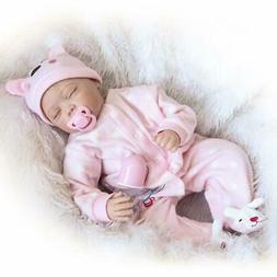 22inch Reborn Baby Doll Lifelike Soft Vinyl Real Life Newbor