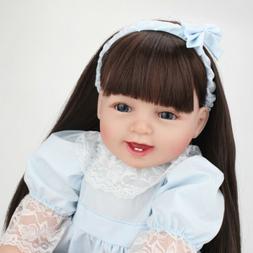 22inch Reborn Baby Dolls Realistic Cute Newborn Doll Lifelik