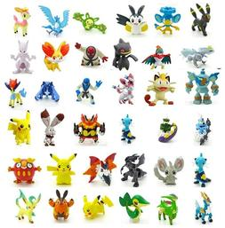 24pc Pokemon Go Playset Miniature Figure Cake Topper * USA S