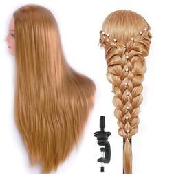 "HAIREALM 26"" Mannequin Head Hair Styling Training Head Manik"