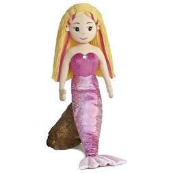 "27"" Sea Sparkles Mermaid Melody Soft Doll - Aurora World 27i"