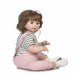 28'' Soft Silicone Viny Newborn Toddler Reborn Girl Doll One