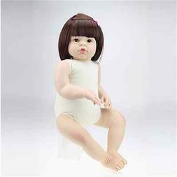 28'' Toddler Reborn Babies Girl Dolls Silicone Vinyl Reborn