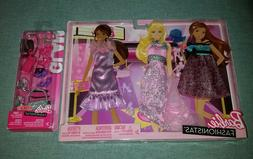 Barbie Fashionistas: 3 Pack - Glam Night Out Pastel Fashions