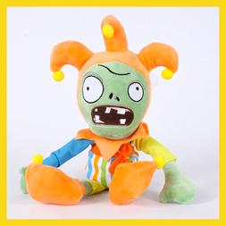 30cm PVZ Plant Vs Zombies Plush Toys Clown Zombie Plush Toy