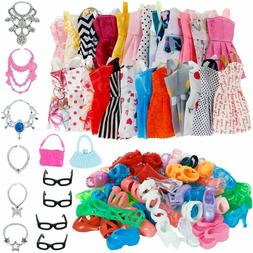 30pcs Doll Clothes Set Fashion Accessories for 11-12 Inch Gi