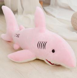 32inch Large Shark Stuffed Animal Soft Plush Doll Pillow Gif