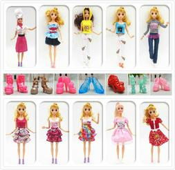 33 Styles of Handmade Barbie Clothes Dresses Shoes for 11 In