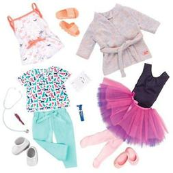 """Our Generation 3pk Regular Outfits for 18"""" Dolls - Work, Dan"""