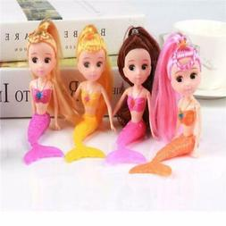 4 Color Waterproof Swimming Doll Bath Toys Dolls Accessories