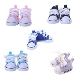 5cm Doll Accessories Sneakers Shoes for BJD Dolls Mini Canva