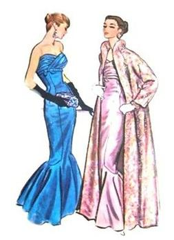 #61 RED CARPET EVENING & COAT PATTERN FOR FASHION DOLLS