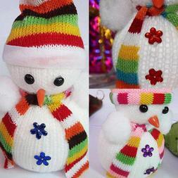 6PCS Snowman Christmas Tree Decor Hanging Dolls Ornaments Pa