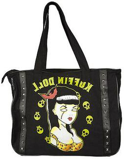 78034 Koffin Doll Dead Pin Up Girl Skulls TOTE BAG Sourpuss