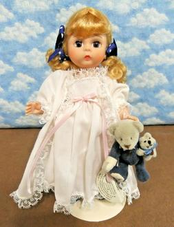 "Madame Alexander  8""  TEDDY WITH TEDDY   Mint-Restrung-W/sta"