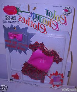 #8394 RARE Vintage Olmec Girls Lifestyles Color Change Fashi
