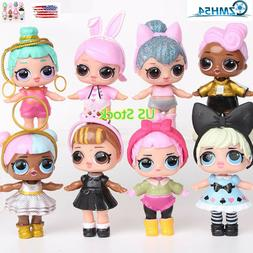 8pcs LoL Doll Unpacking High-quality Dolls Baby Tear Open Co