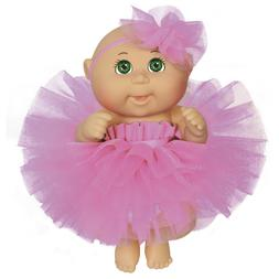 Cabbage Patch Kids 9 Inch Dance Time Girl, Green Eyes, Pink