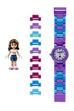 LEGO Kids' 9001000 Friends Olivia Plastic Watch With Minifig