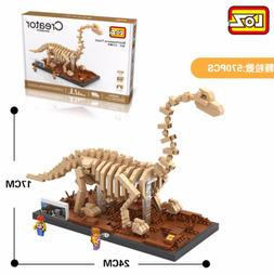 9028 Brachiosaurus Dinosaur LOZ Diamond Blocks Mini Building