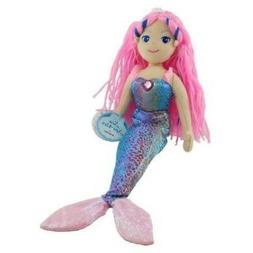 "Aurora World Sea Sparkles Mermaid Nixie Doll, 17"" Tall"