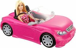 Barbie Convertible and Doll Pack