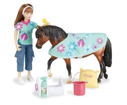 Breyer Classics Pony Care Doll and Pony Activity Set