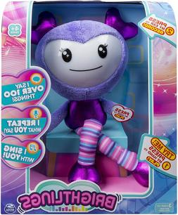 "Brightlings, Interactive Singing, Talking 15"" Plush, by Spin"