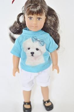 Brittany's 6 Inch Mini Doll Outfit Compatible with American